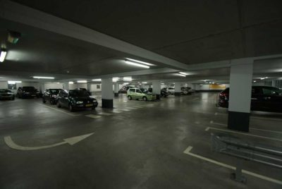 GripFactory MicroGrip Anti-Slip - concrete parking garage