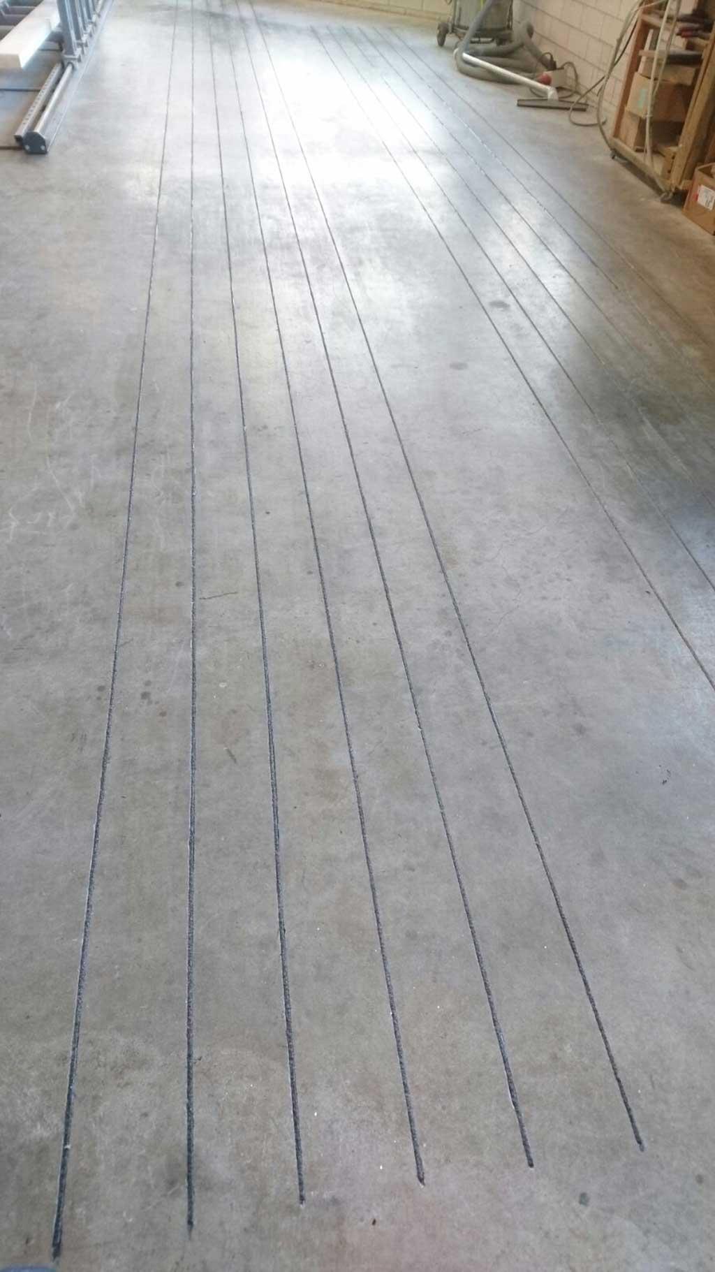 GripFactory PolyGrip Anti-Slip Mini-Strips - concrete