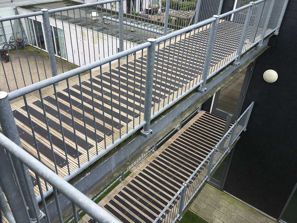 GripFactory PolyGrip Anti-Slip Strips - footbridge