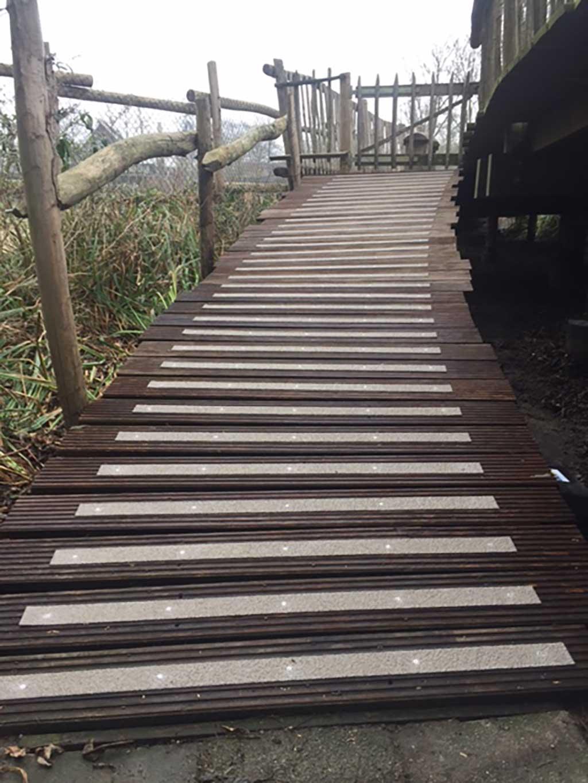 GripFactory PolyGrip Anti-Slip Strips - walkway