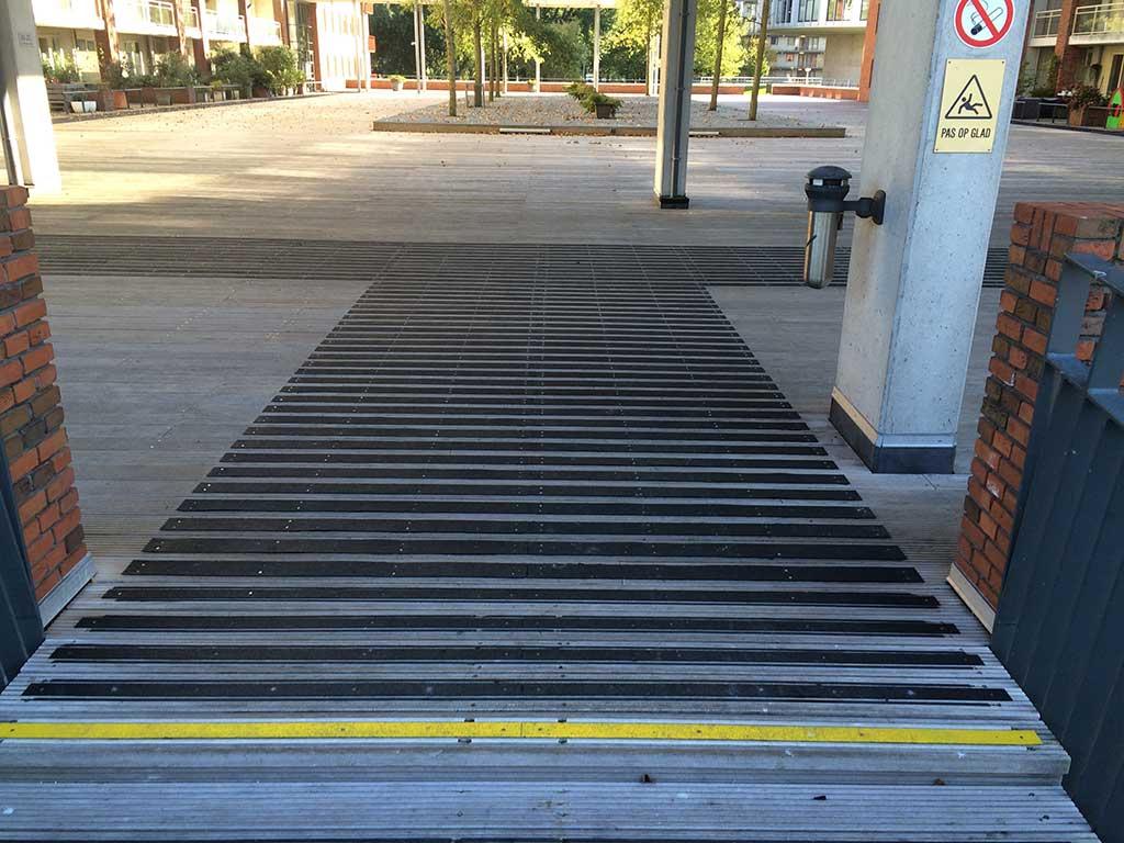 GripFactory PolyGrip Anti-Slip Strips - Footbridge
