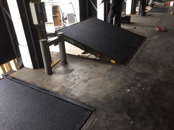 GripFactory PolyGrip Anti-Slip Plates - loading bridge