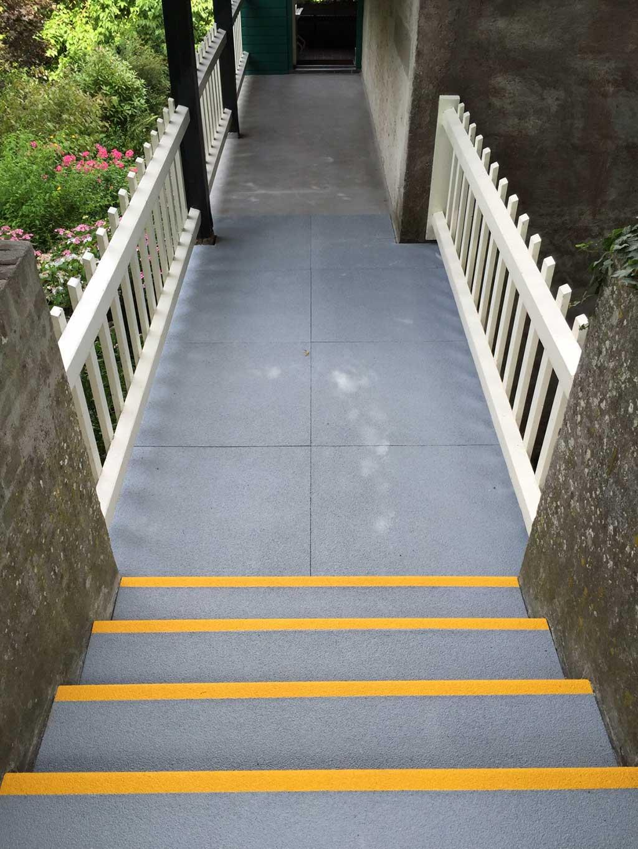 GripFactory PolyGrip Anti-Slip Plates - walkway