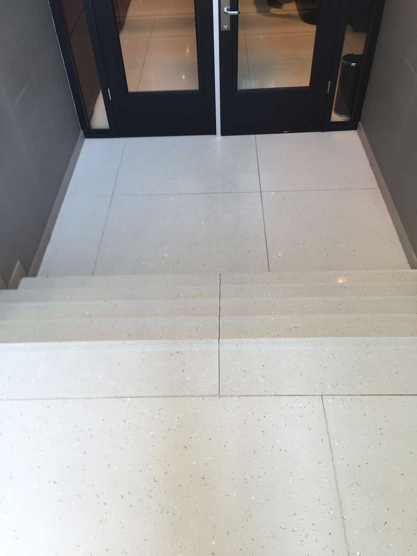 GripFactory TitaniumGrip Anti-Slip - tile floor entrance