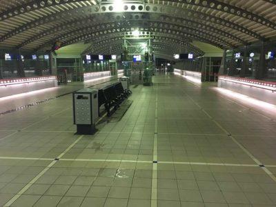 GripFactory TitaniumGrip Anti-Slip - tile floor train station